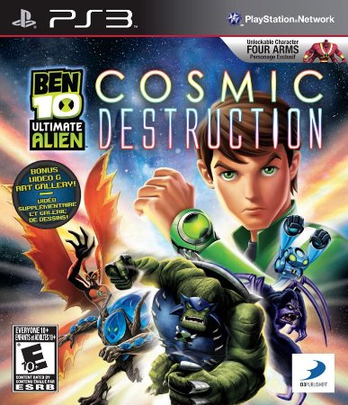 BEM 10 ULTIMATE ALIEN COSMIC DESTRUCTION - Semi Novo