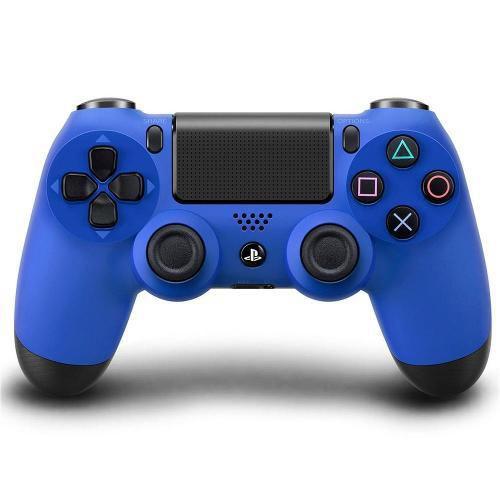 Controle Sem Fio Para Playstation 4 (Ps4) Azul - Sony