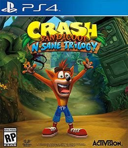 Crash Bandicoot N. Sane Trilogy (Pré-venda) - PS4