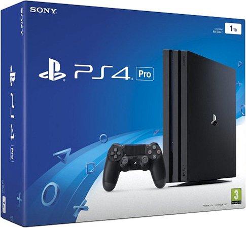 Console PS4 PRO - 1TB com 2 Anos de Garantia - Sony