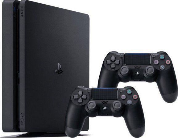 Console PS4 Slim 500GB com 2 Controles - 2 Anos de Garantia