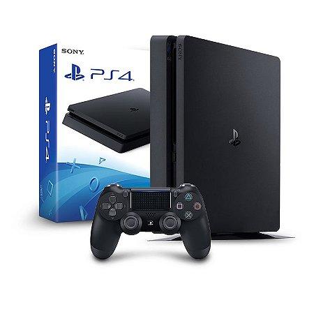 Console PS4 Slim 1TB  -  2 Anos de Garantia