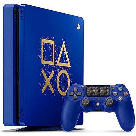 Console Playstation 4 Slim 500GB Edição Especial Days of Play