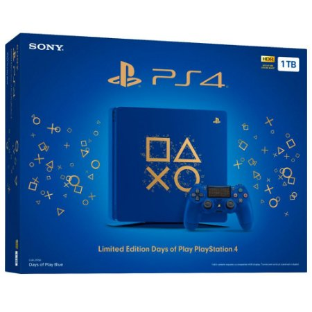 Console Playstation 4 Slim 1TB Edição Especial Days of Play