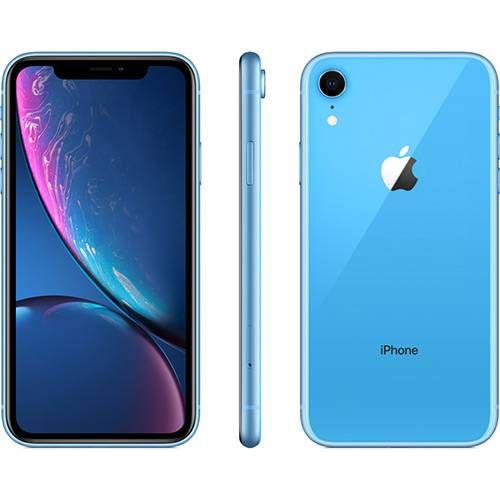 iPhone Xr 128GB Azul IOS12 4G + Wi-fi Câmera 12MP - Apple