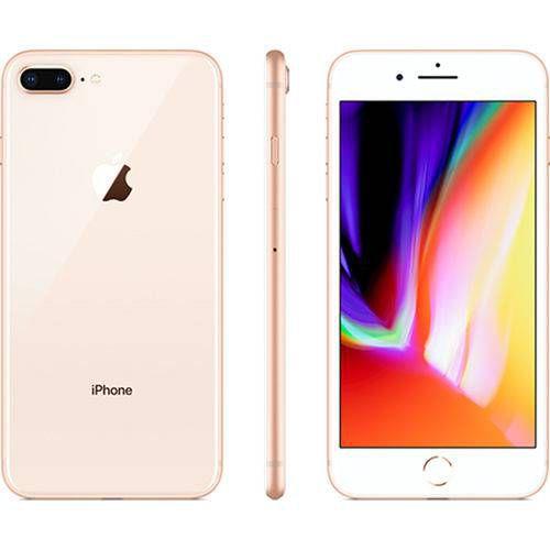 "Iphone 8 Plus 64GB Ouro Tela 5.5"" iOS 12 4G Câmera 12MP - Apple"