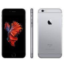 """CELULAR APPLE IPHONE 6S 1688 BZ 32GB / 4G / TELA 4.7"""" / CÂMERAS 12MP E 5MP - SPACE GRAY"""