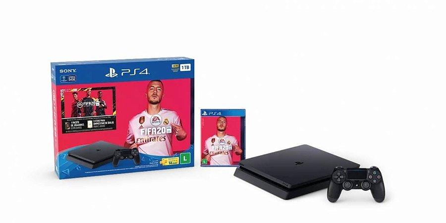 PLAYSTATION 4 1TB - FIFA 20 - 2 ANOS DE GARANTIA