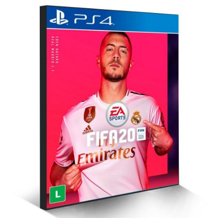 FIFA 2020 Português - PS4 PSN Mídia Digital