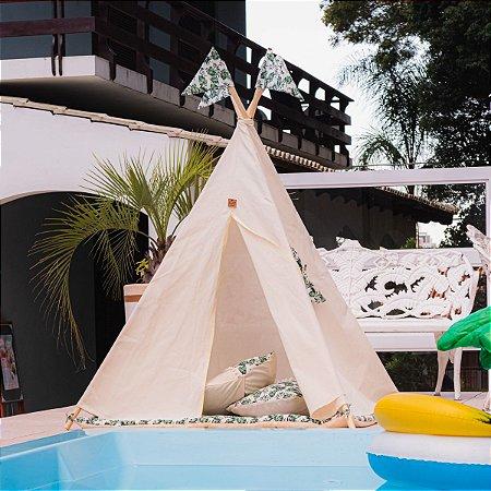 Cabana Barraca Oca Palmeira do Meu Quintal
