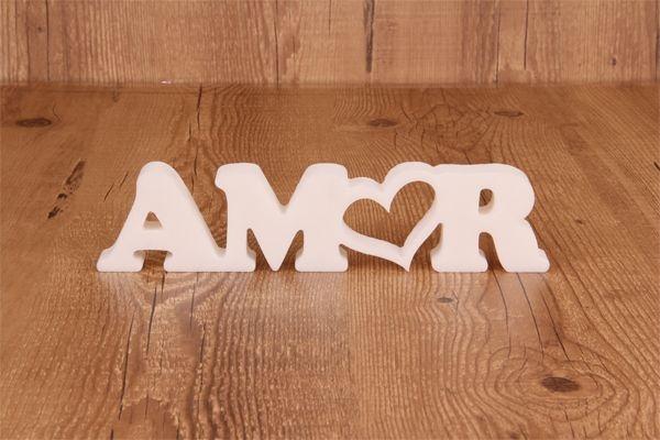 Letra Decorativa AMOR