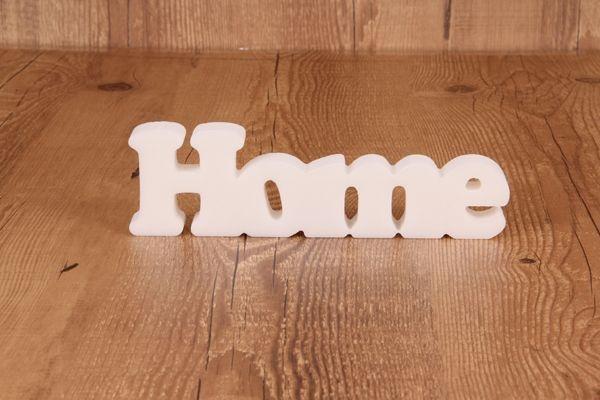 """Palavra Decorativa """"Home"""""""