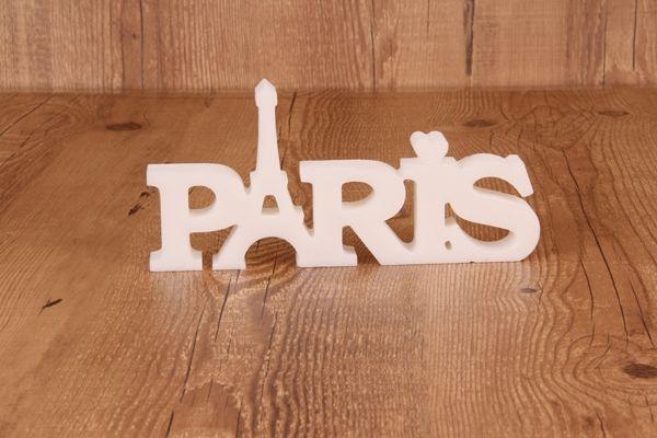 """Palavra Decorativa """"Paris"""""""