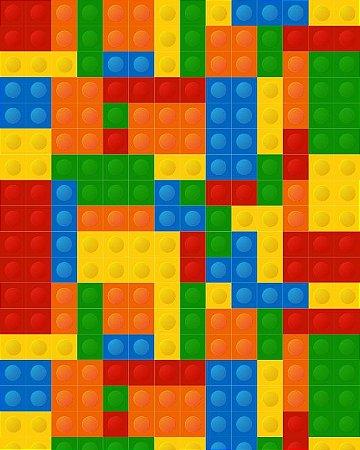 Papel de Parede Teen Lego