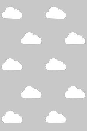 Papel de Parede Baby Nuvens