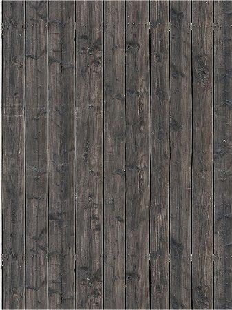 Papel de parede de madeira em tons escuros de marrom