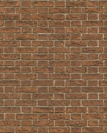 Papel de parede estilo tijolo Marrom Escuro