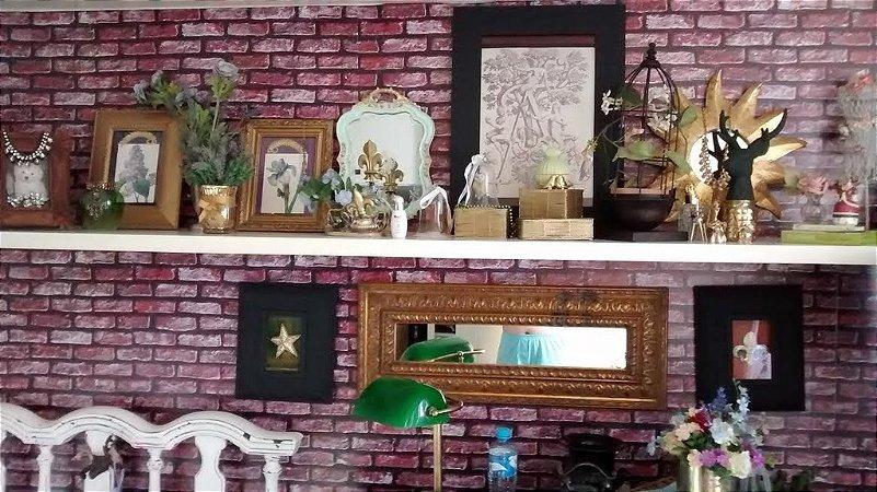 Papel de parede Tijolinhos Rústico