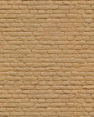 Papel de parede estilo Tijolos Marrom