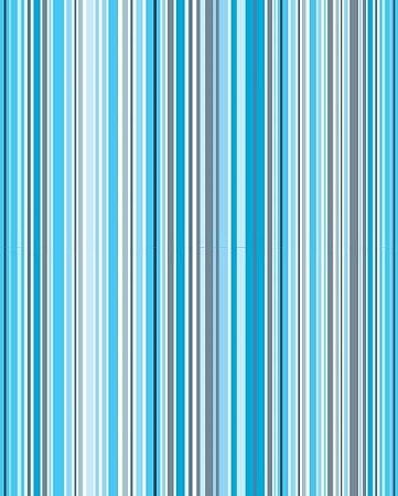 Papel de Parede estilo Listrado em Azul e Cinza