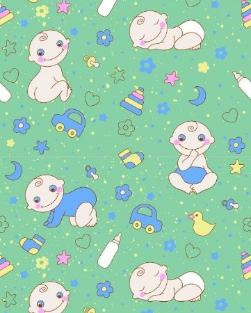Papel de parede linha baby / infantil