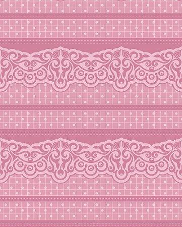Papel de parede linha Luxurious Rosa