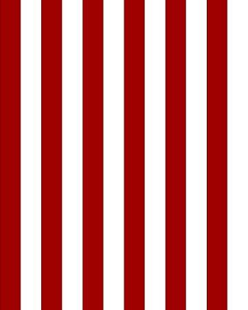 Papel de Parede estilo Listrado Vermelho - listras 5cm