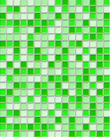 Papel de parede estilo Pastilhas Verde