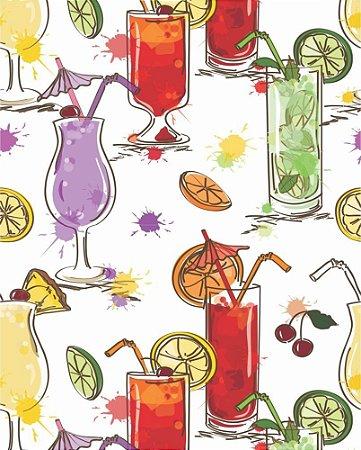 Papel de parede Cozinha Drinks