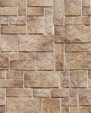 Papel de Parede Pedras Retangulares Rústicas