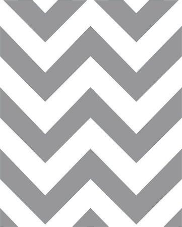 Papel de Parede Estilo Geométricos Cinza e Branco