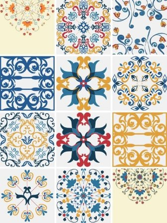 Kit Adesivos Decorativos para Azulejos - 24 unidades