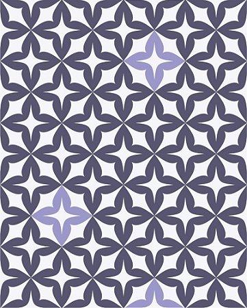 Papel de Parede Estilo Geométricos Roxo