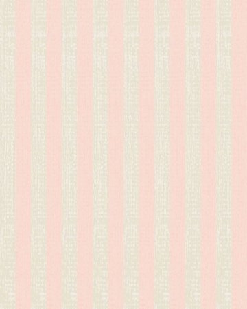 Papel de Parede Estilo Listras Rosa e Bege