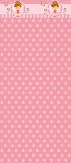 Papel de parede estilo meia parede infantil 006