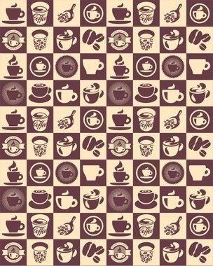 Papel de Parede Hidráulico Coffe