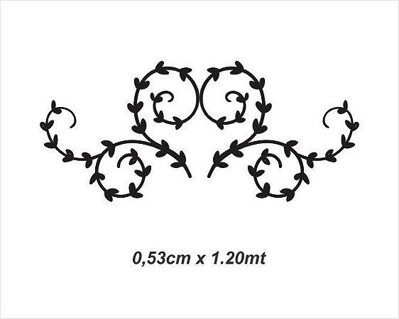 Adesivo Decorativo Cabeceiras Coração - 53cm x 1.20mt