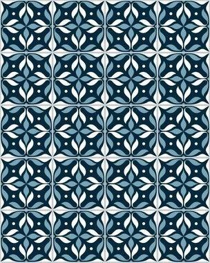 Papel de Parede Azulejo Cassino