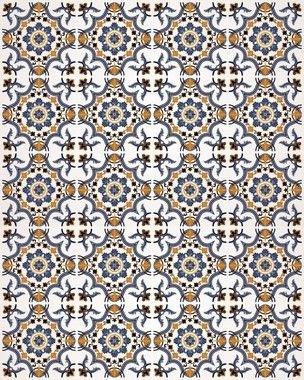 Papel de Parede Azulejo Miragem