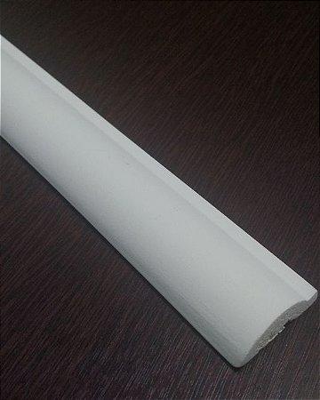Moldura decorativa em poliuretano 2 metros RM418 Branca