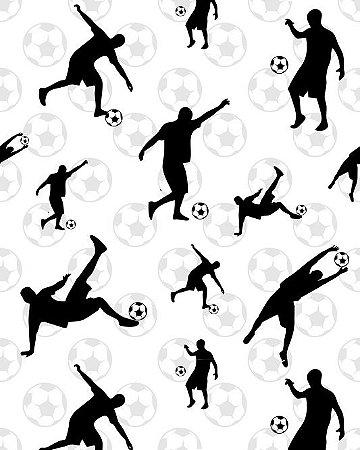Papel de Parede Estilo Teen Jogadores de Futebol