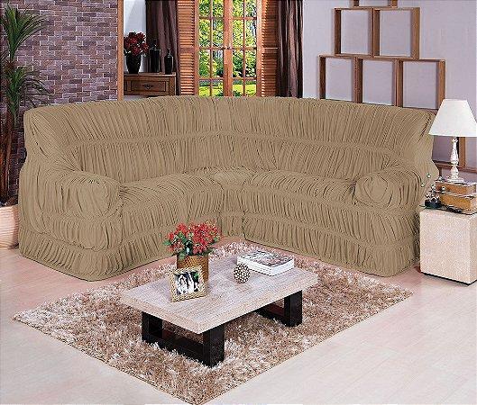 Capa de sofá de Canto Dodigo 01 Peça
