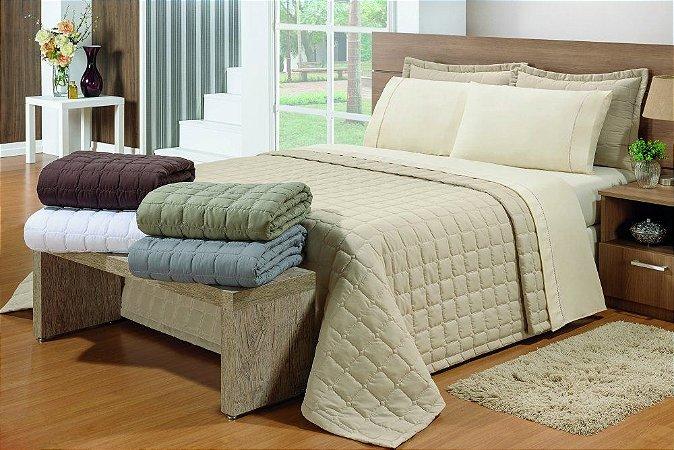 Cobre Leito + Porta Travesseiro Soft
