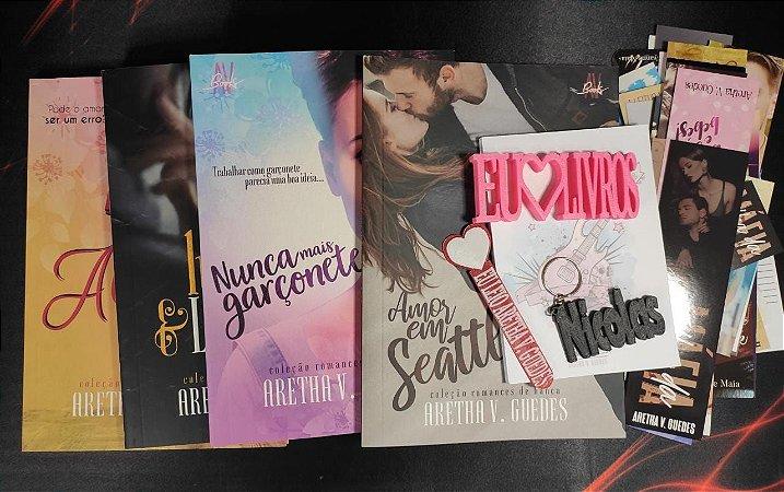 Caixa literária - Coleção Romances de banca (Valor depósito/Picpay: R$ 93,00)