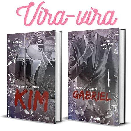 Kim/Gabriel (Jack Rock #5 - vira-vira) + marcadores  (Depósito: 36,00. Checar desconto na Shopee)