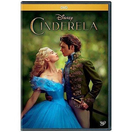 DVD - Cinderela - 2015 O FILME Disney