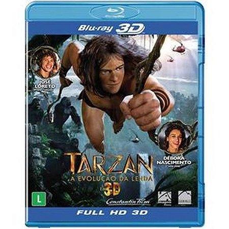Blu-ray 3D/2D Tarzan: A Evolução da Lenda