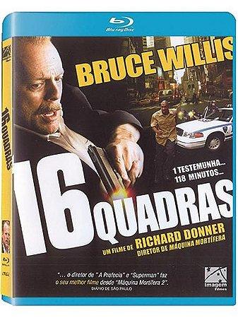 Blu-Ray 16 Quadras - Bruce Willis