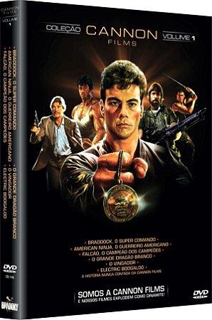 DVD Box - Coleção Cannon Films - Volume 1 ( 3 Discos )