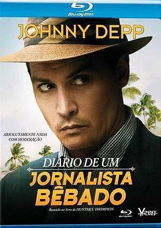 Blu Ray Diário de um Jornalista Bêbado - Johnny Depp